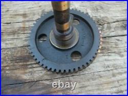 Allis Chalmers WD45 WD 45 AC tractor gas engine motor camshaft cam shaft & gear