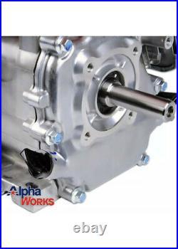 AlphaWorks Gas Engine 7HP 209cc Motor Horizontal 4 Stroke OHV Recoil Start Shaft