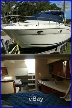 Amberjack 290 Repowered MPI Seacore Engines 227 Hrs! New Upholstery Trailer Inc