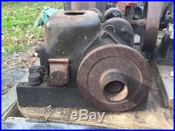 Antique Fairbanks Z Style D Gas Engine. 1-1/2hp. Water Cooled Horizontal Shaft