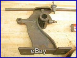 Antique Hit & Miss Gas Steam Engine Flat Belt Pulley Line Shaft Double Clutch