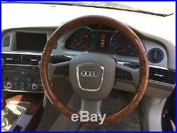 Audi A6 C6 Wood Steering Wheel 2004-2011