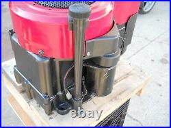 BRIGGS 12.5 hp ENGINE, VERTICAL SHAFT, ELECTRIC START