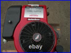 BRIGGS 15.5hp ENGINE, VERTICAL SHAFT, ELECTRIC START
