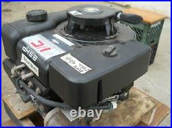 BRIGGS 8.5 hp ENGINE, VERTICAL SHAFT, RECOIL & ELECTRIC START
