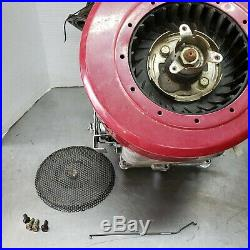 BRIGGS & STRATTON 12.5HP VERTICAL SHAFT ENGINE MOTOR 286707 RUNS IC Quite