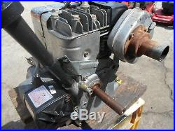 Briggs 5.5hp- Horizontal Shaft Engine Electric & Recoil Start