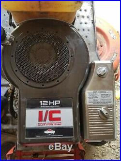 Briggs And Stratton 12hp Vertical Shaft Engine 281707 Single Cylinder NO SHIP