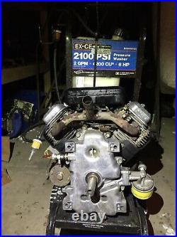 Briggs & Stratton 16 HP Vanguard 303777 1142-a1 Vertical Shaft 1x3 200hrs