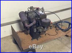 Briggs & Stratton 16hp Horizontal Shaft Cast Iron running engine with harness