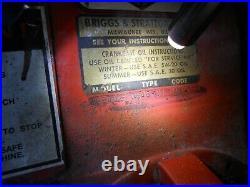 Briggs Stratton 190402 0646-01 8 HP 3600 RPM Engine 1 Horizontal Shaft