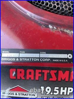Briggs & Stratton 19.5 HP Opposed Twin Vertical Shaft Mower Engine Motor 42E707