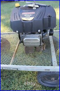 Briggs & Stratton 21 HP Vertical Shaft Mower Engine Motor 331877