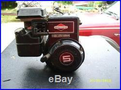 Briggs & Stratton 5 HP Std Engine Unused! Mfg'd 1992 #135232 Horiz Shaft NIB NR