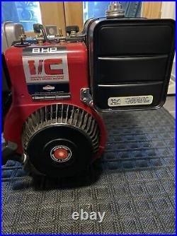 Briggs Vintage Nos 8hp IC horizontal shaft engine
