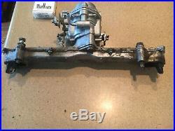 Carberator and intake manifold from onan 20 HP horizontal shaft engine
