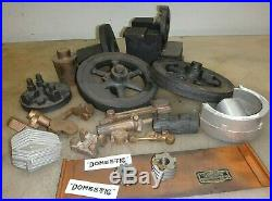 DOMESTIC SIDE SHAFT STOVE PIPE MODEL CASTING KIT Old Hit and Miss Gas Engine