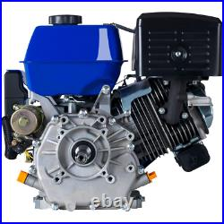 DUROMAX Portable 420cc Replacement Engine 1 in. Dia. Shaft Gas-Powered 4 Cycle