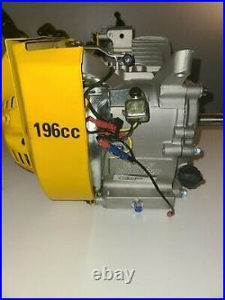 Dewalt Engine 6.5HP 196CC Generator Gas Horizontal Shaft Motor DW168F-2F