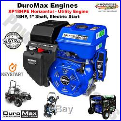 DuroMax Utility Recoil / Electric Start Engine 1 Shaft, 18 HP / XP18HPE