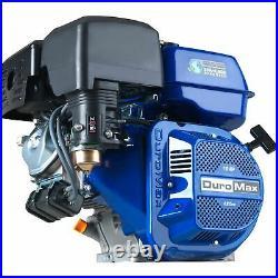 DuroMax XP16HP 420cc 1 Shaft Recoil Start Horizontal Gas Powered Engine