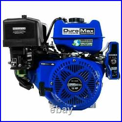 DuroMax XP18HPE 440cc 18 HP 1'' Shaft Electric Start Horizontal Gas Engine