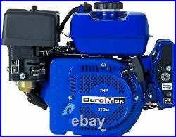 DuroMax XP7HPE Portable 7 HP 3/4'' Shaft, Recoil/Electric Start Gas Engine