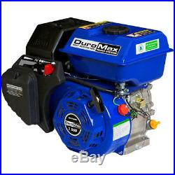 DuroMax XP7HP 7 HP 3/4 Inch Shaft Recoil Starter Go Kart and Mower Gas Engine