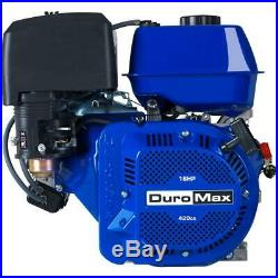 Duromax Portable 16 HP 1 in. Shaft Portable Gas-Powered Recoil Start Engine