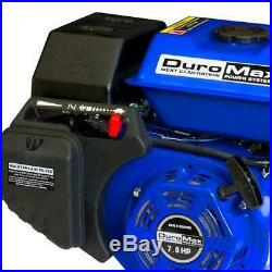 Duromax Portable 7 HP 3/4 In. Shaft Gas-Powered Recoil Electric Start Engine New