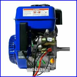 Duromax XP16HPE Portable 16 HP 1in Shaft Gas Recoil/Electric Start Engine