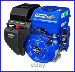Electric Start Engine Shaft Gas Powered Recoil Portable Durable Compact Tractor