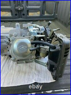 Engine 6.5HP 196CC Generator Gas Horizontal Shaft Motor Honda Clone Workzone