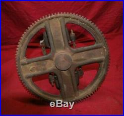 Fairbanks Morse Model H Cam Gear With Complete Governor & Shaft Gas Engine Motor
