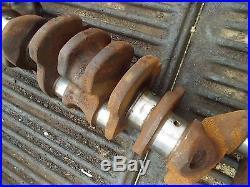 Farmall 560 gas tractor IH engine motor main crank shaft crankshaft ready to use