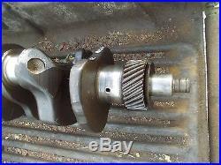 Farmall 560 gas tractor engine motor main crank shaft crankshaft ready too use