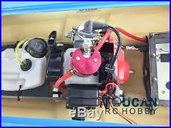 G26IP1 ARTR Fiberglass 26CC-Clutch Gas Engine RC Boat Propeller Shaft Rudder BU