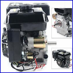 GO KART 7.5 HP 4 Stroke Engine Motor Horizontal Gas Shaft Garden mini Bike