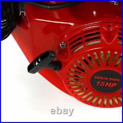 GO Kart 15HP 4Stroke Engine Motor Horizontal Gas 25mm Shaft OHV 420CC With Recoil