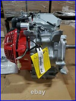 GX270RT2VMT2 9HP Honda Horizontal Shaft Engine Tapered Shaft For Most Generators