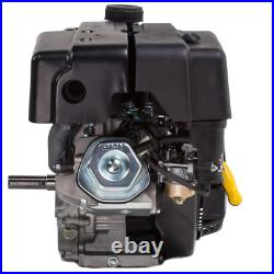 Gas Engine 15 HP 420 cc OHV Electric Start 1 in. Horizontal Keyway Output Shaft