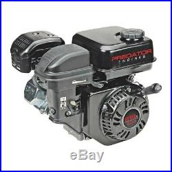 Gas Engine 6.5 HP 212cc OHV Horizontal Shaft Replacement Recoil CA EPA Compliant