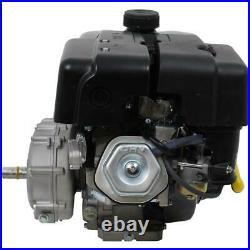Gas Engine 9 HP 270cc Recoil Start 21 Clutch Gear Reduction Horizontal Shaft