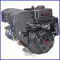 Gas Engine EPA 13 HP 420cc OHV Horizontal Shaft Multi-Use California Compliant