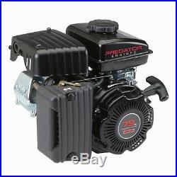 Gas Engine EPA 3 HP (79 cc) OHV Horizontal Shaft All Purpose Generators Pumps