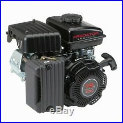Gas Engine EPA 3 HP 79 cc OHV Horizontal Shaft Recoil Start Many Use Replacement