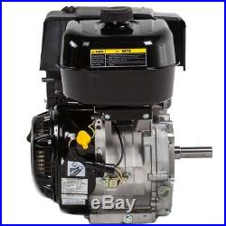 Gas Engine Electric Start Horizontal Keyway Shaft Durable Runs Quietly 420cc