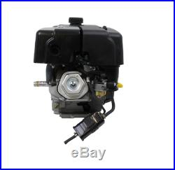 Gas Engine Recoil Start Horizontal Shaft 15 HP 420cc OHV Adjustable Throttle
