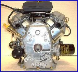 Generac Horizontal V-Twin OHVI 530cc 18hp Engine tapered Shaft #0G5012