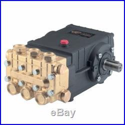 General Pump TSS1511 Triplex Pump Fully Plumbed, 4 GPM @ 3500 PSI, 24 mm Shaft